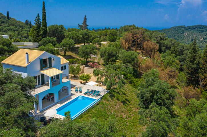 Villa Eleonas, Acharavi, Corfu, Greece
