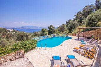 Villa Elissavet, Kalami, Corfu, Greece