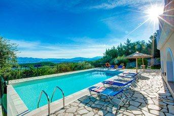 Villa Federica, Avlaki, Corfu, Greece