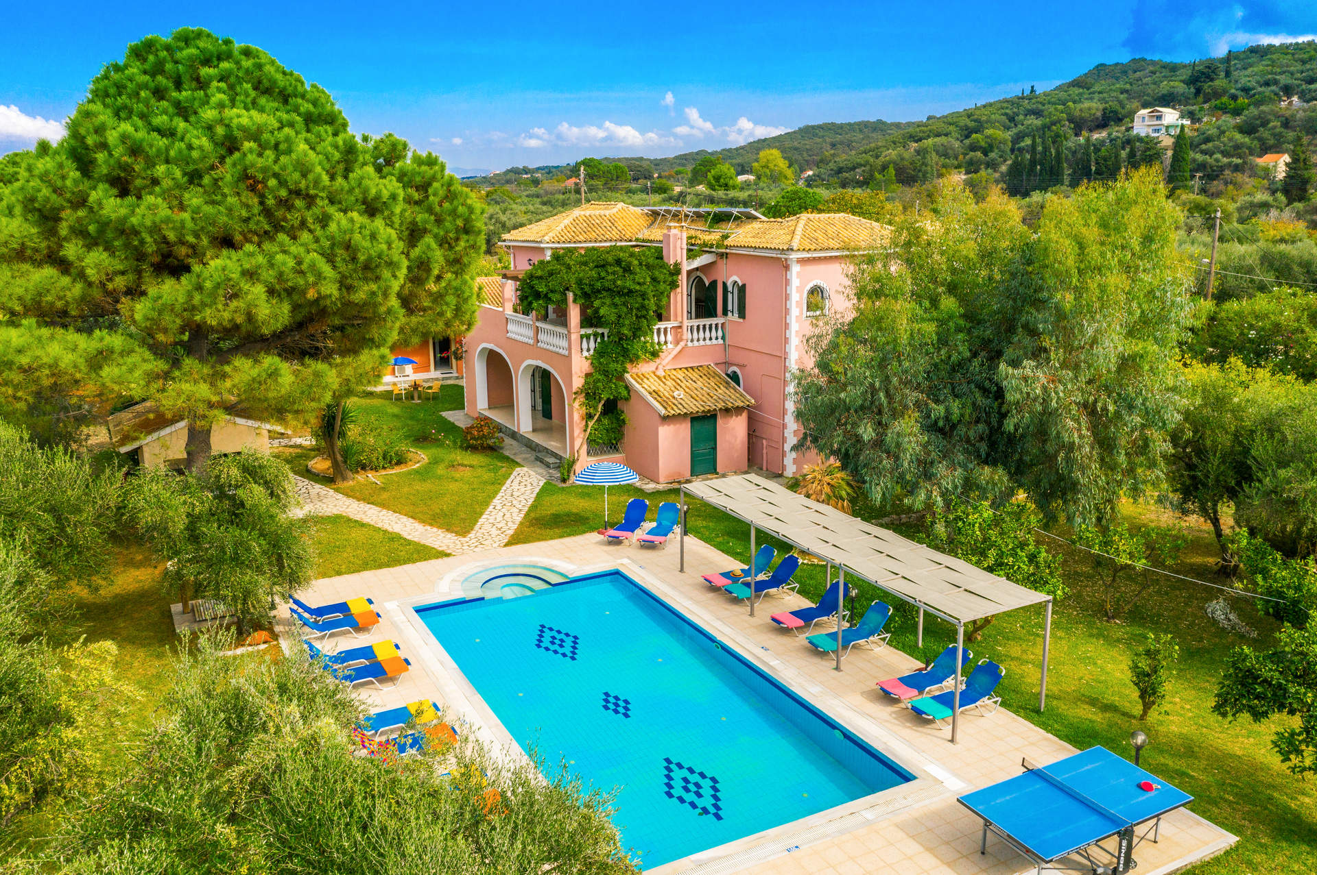 Villa Finikas, Acharavi, Corfu, Greece