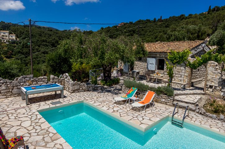 Villa Folitsa, Agios Stefanos, Corfu, Greece