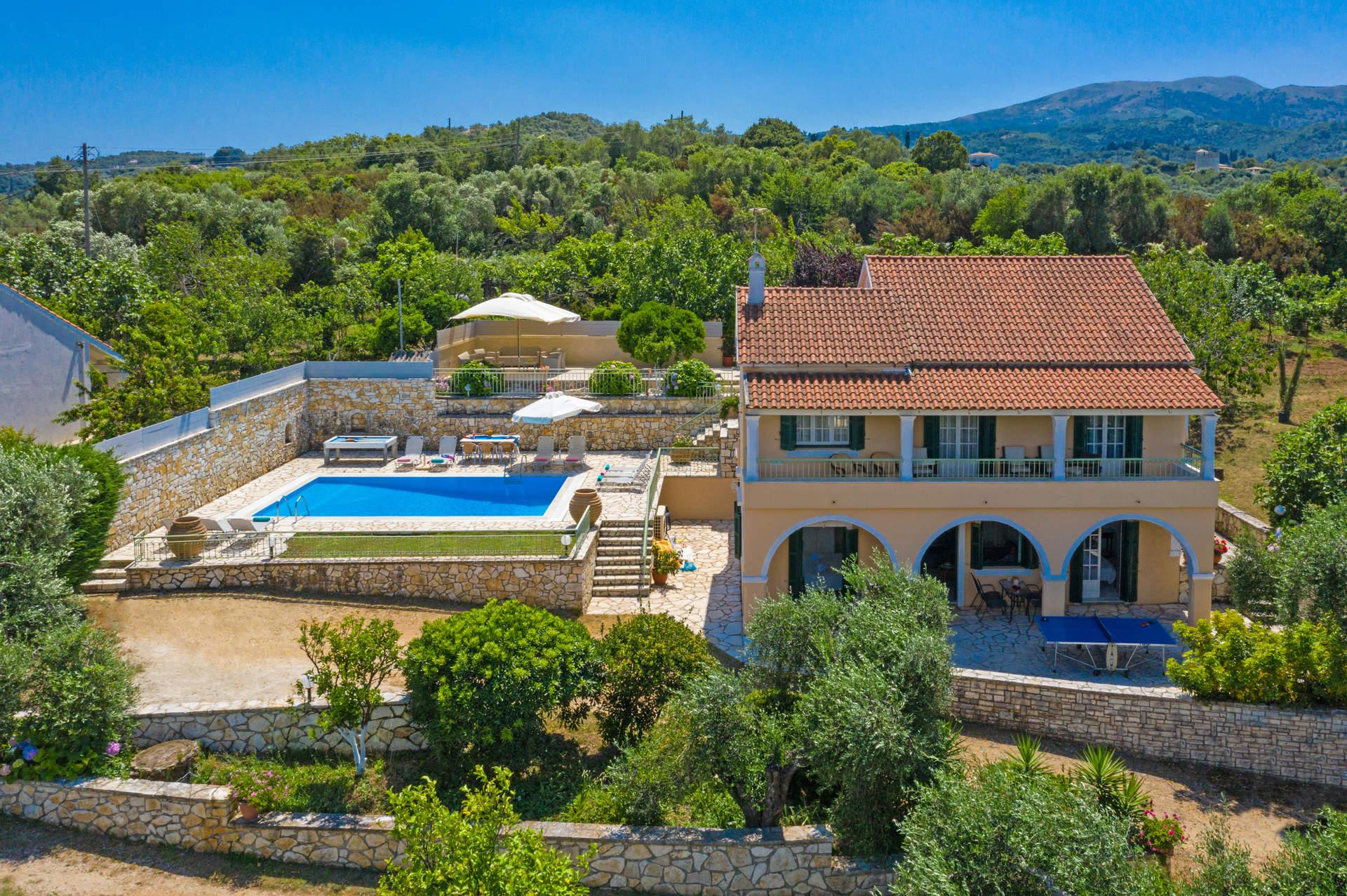 Villa Ftelias, Agios Stefanos, Corfu, Greece