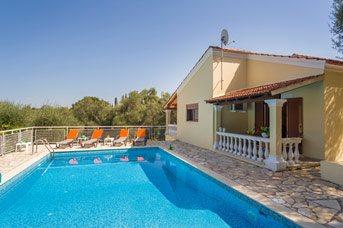 Villa Helona, Kassiopi, Corfu, Greece