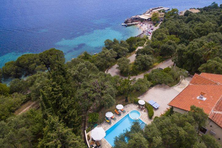 Villa Irini, Nissaki, Corfu, Greece