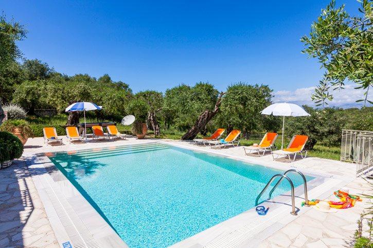 Villa Kanali, Kassiopi, Corfu, Greece