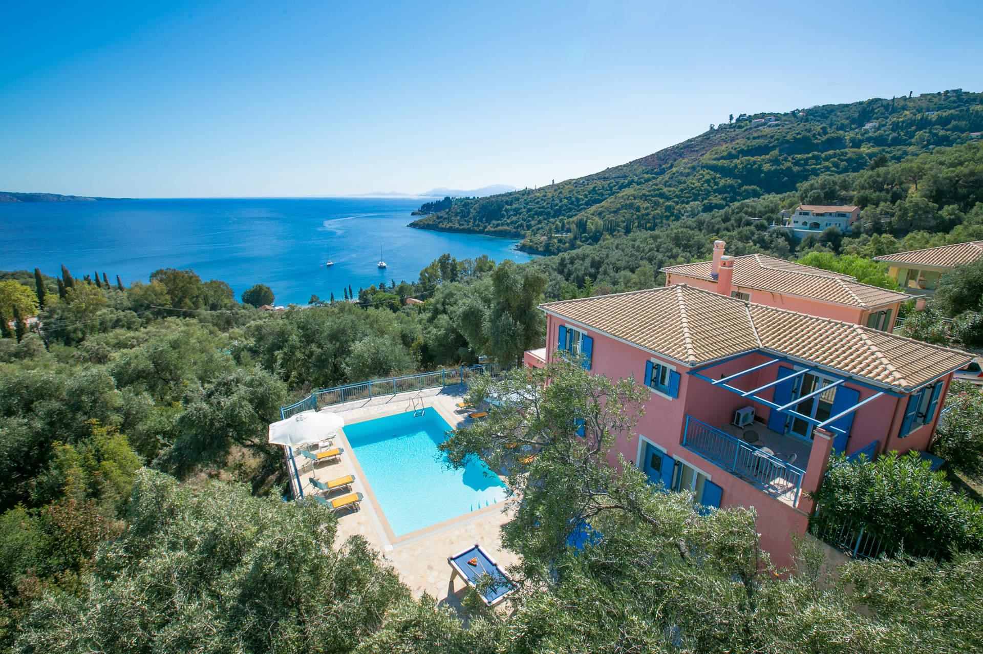 Villa Kerasia Anatoli, Agios Stefanos, Corfu, Greece
