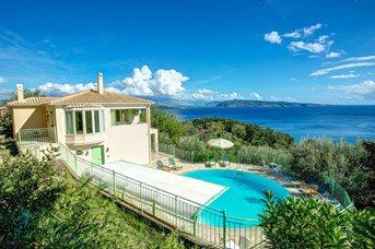Villa Kerasia Bayview, Agios Stefanos, Corfu, Greece