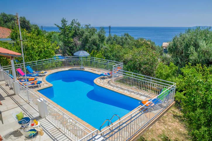 Villa Kiki, Nissaki, Corfu, Greece