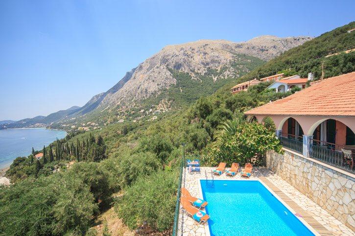 Villa Kyriaki, Nissaki, Corfu, Greece