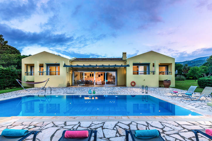 Villa Lavanda, Avlaki, Corfu, Greece