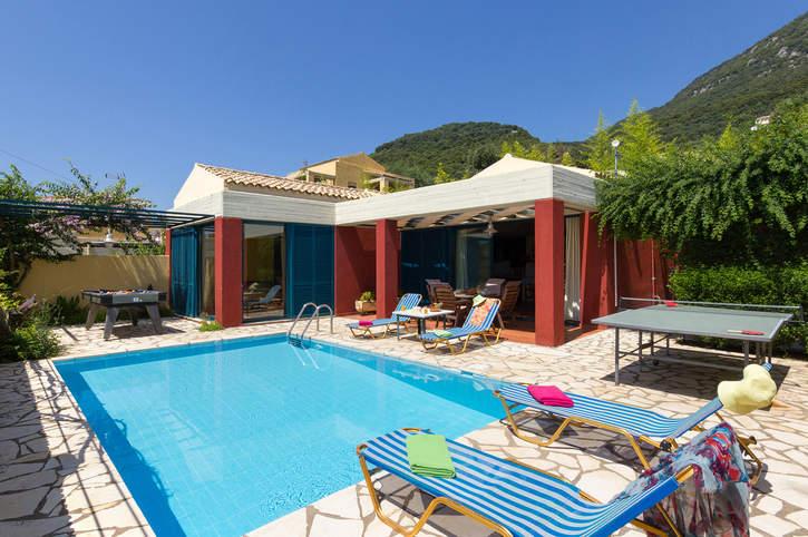 Villa Lefkada, Barbati, Corfu, Greece