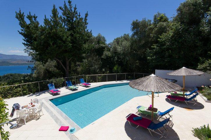 Villa Leondari, Agios Stefanos, Corfu, Greece
