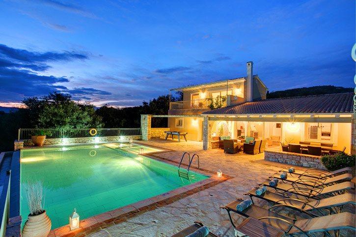 Villa Liontzos, Kassiopi, Corfu, Greece