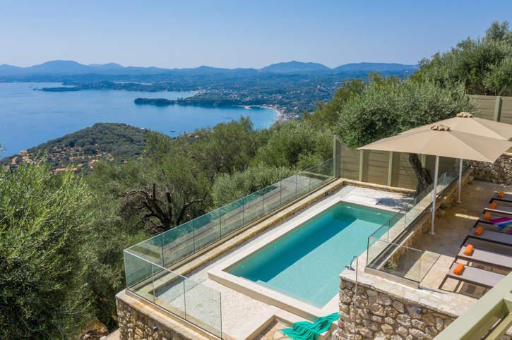 Villa Lunaria, Barbati, Corfu, Greece
