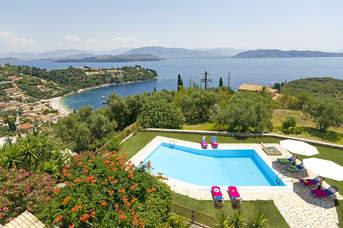 Villa Mangana, Kalami, Corfu, Greece