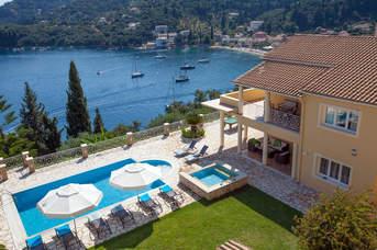 Villa Mara, Kalami, Corfu, Greece