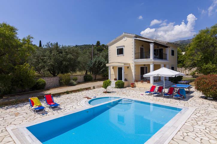 Villa Marily, Avlaki, Corfu, Greece