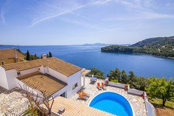 Villa Mary Lou, Kalami, Corfu, Greece