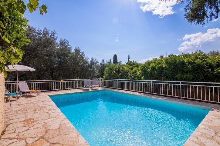 Villa Melina, Nissaki, Corfu, Greece