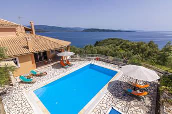 Villa Milka, Kalami, Corfu, Greece