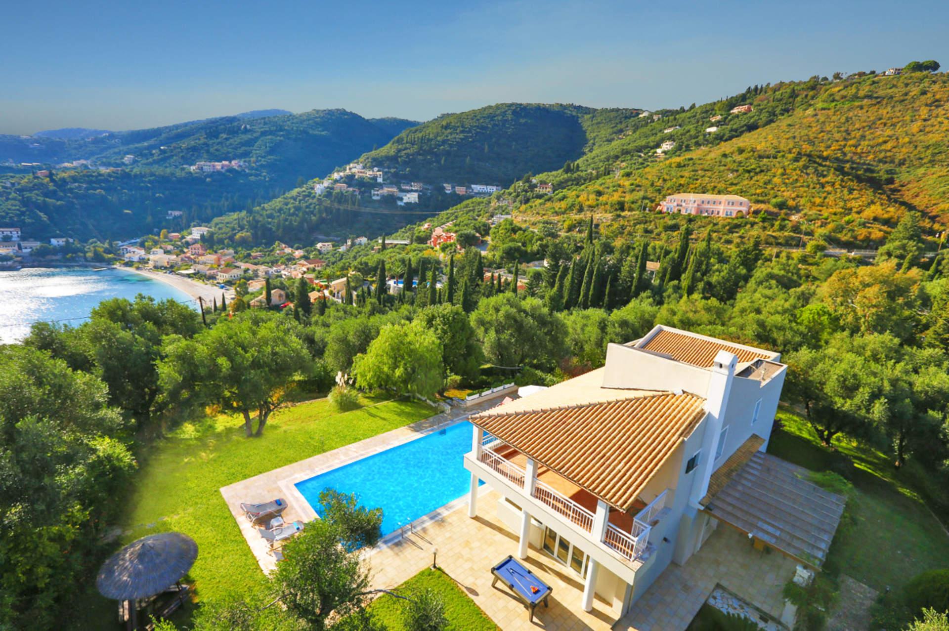Villa Myrto, Kalami, Corfu, Greece