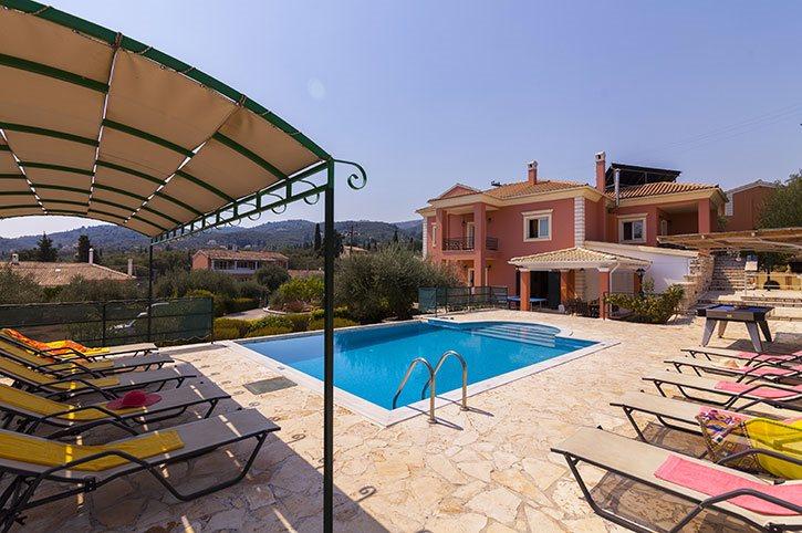 Villa Perla, Kassiopi, Corfu, Greece
