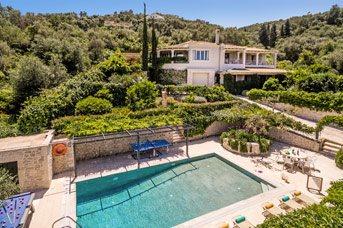 Villa Petroula, Kassiopi, Corfu, Greece