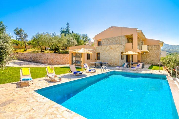 Villa Pietra Gialla, Avlaki, Corfu, Greece