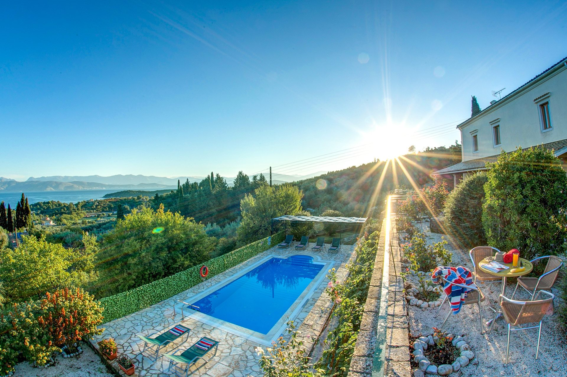 Villa Priodi, Kassiopi, Corfu, Greece