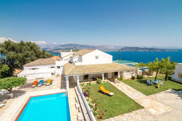 Villa Rastoni, Kalami, Corfu, Greece
