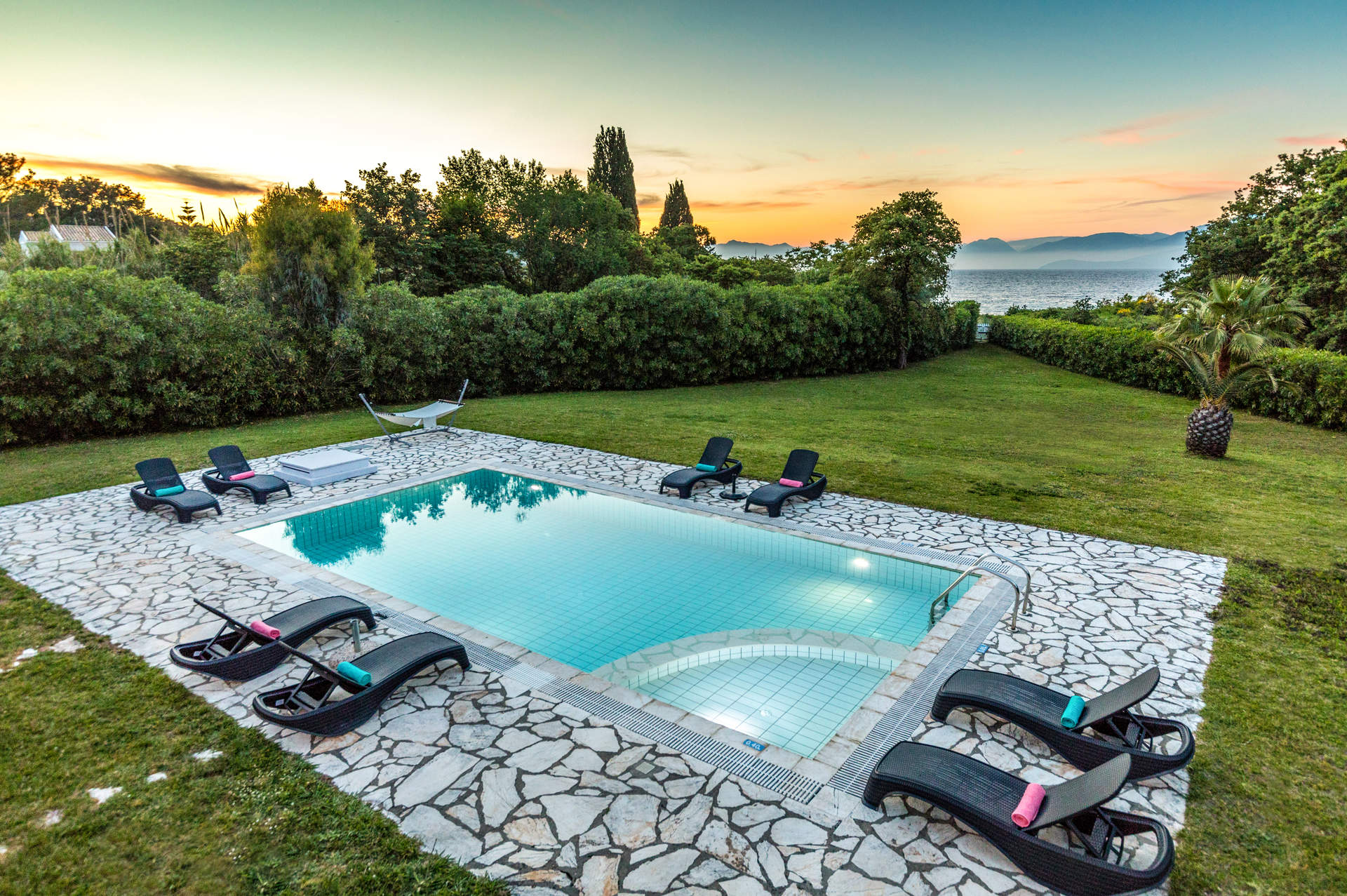 Villa Rosemarine, Avlaki, Corfu, Greece