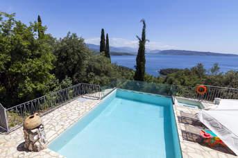 Villa Scirocco, Agios Stefanos, Corfu, Greece
