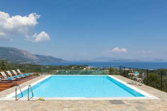 Villa Solitude, Dassia, Corfu, Greece