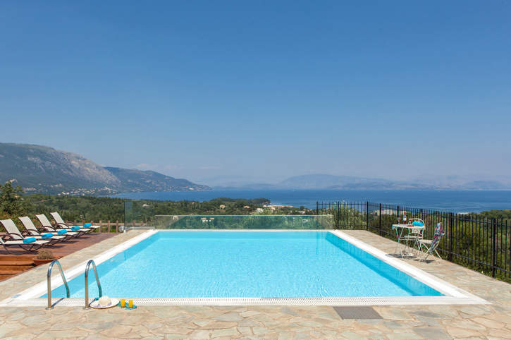 Villa Solitude, Dassia, Corfu, Greece