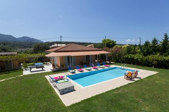 Villa Stafili, Acharavi, Corfu, Greece