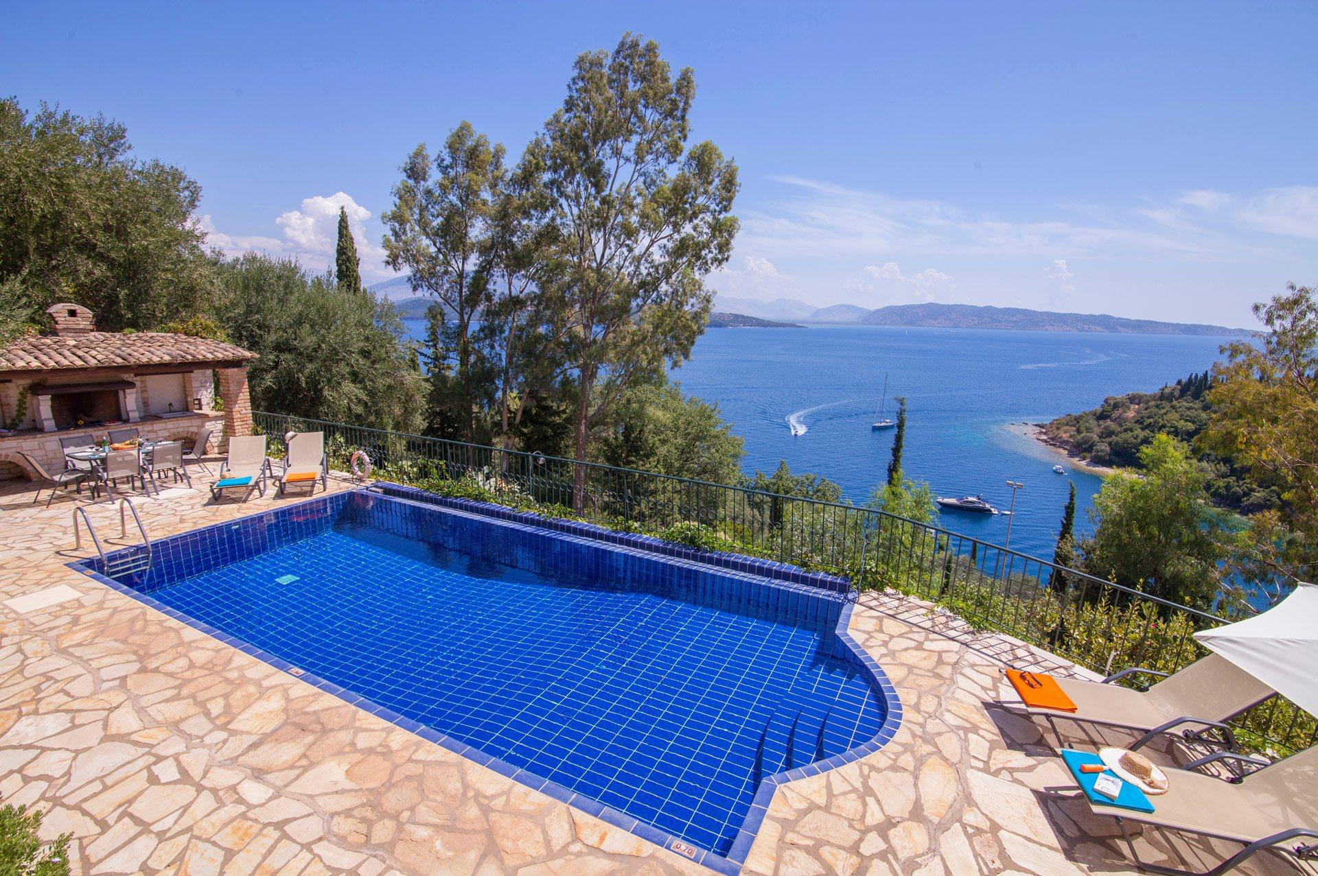 Villa Strongilo, Agios Stefanos, Corfu, Greece
