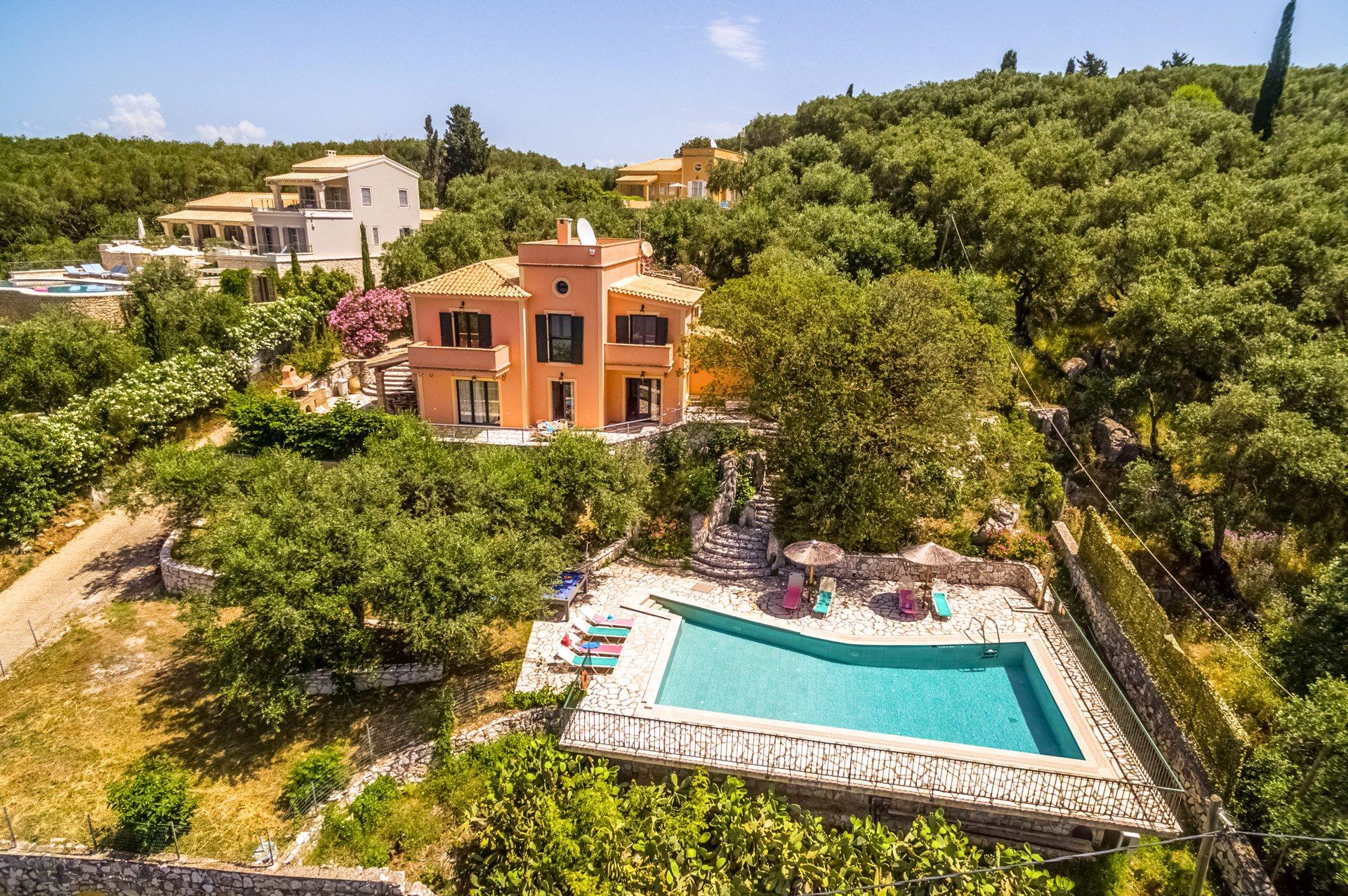 Villa Thalassia, Kassiopi, Corfu, Greece