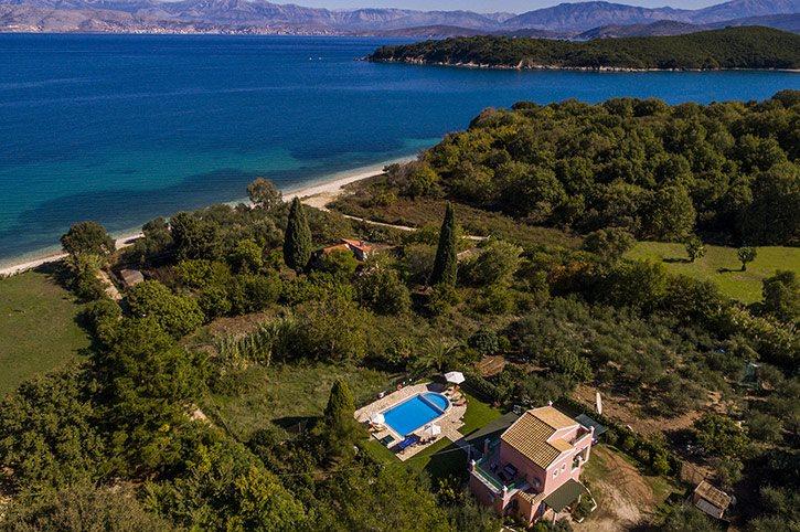 Villa Thalia, Avlaki, Corfu, Greece