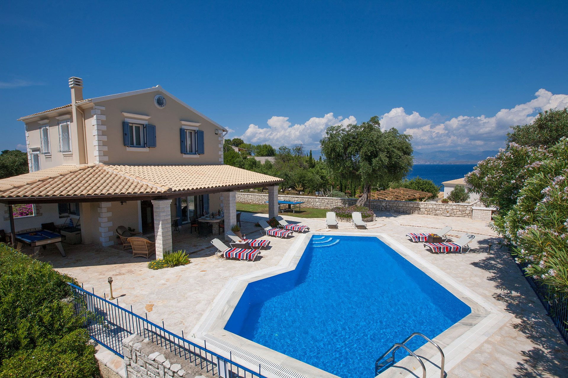 Villa Thanos, Kassiopi, Corfu, Greece