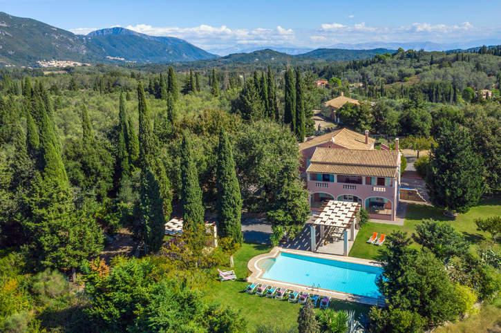 Villa Victor, Paleokastritsa, Corfu, Greece
