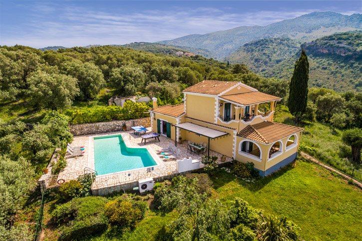 Villa Vingla, Kassiopi, Corfu, Greece