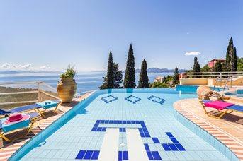 Villa Vrysoulla, Nissaki, Corfu, Greece