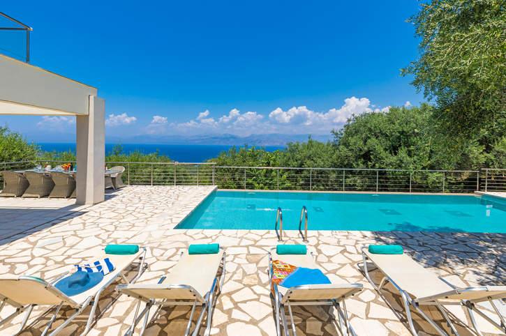 Villa White Stone, Avlaki, Corfu, Greece