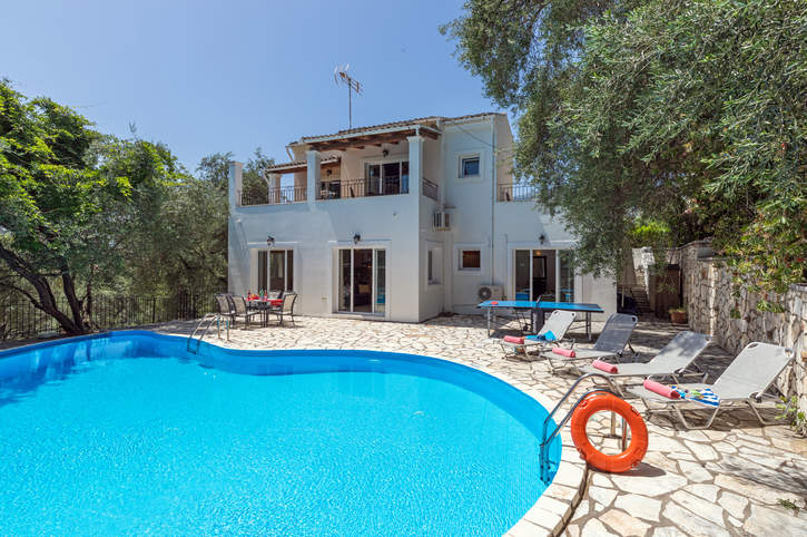 Villa Xanthe, Kassiopi, Corfu, Greece