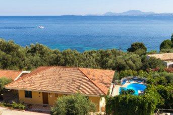 Villa Xenia, Nissaki, Corfu, Greece