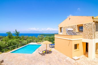 Villa Yellow Stone, Avlaki, Corfu, Greece
