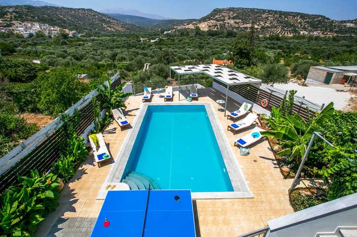 Villa Alexis House, Istron, Crete, Greece