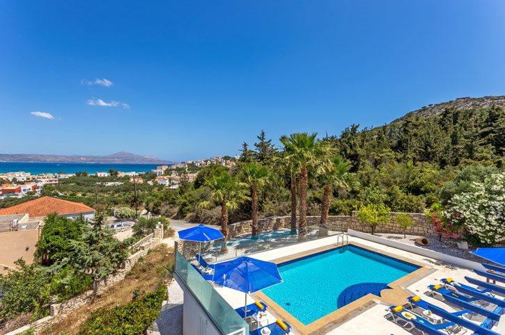Villa Almyrida View, Chania, Crete