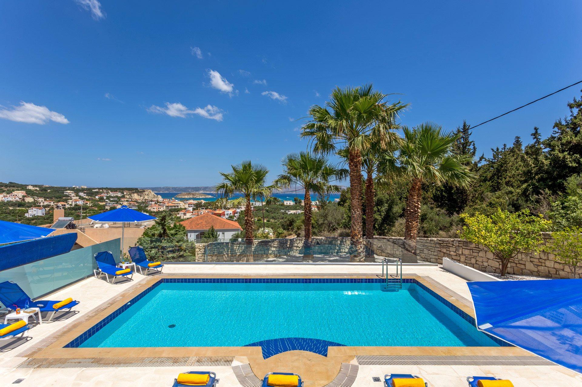 Villa Almyrida View In Chania, Crete   Villa Plus