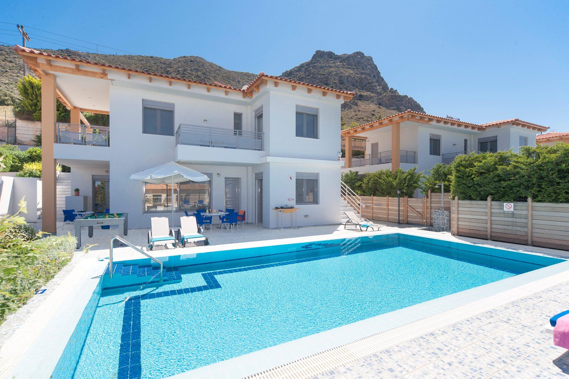 Villa Danae Blue, Hersonissos, Crete